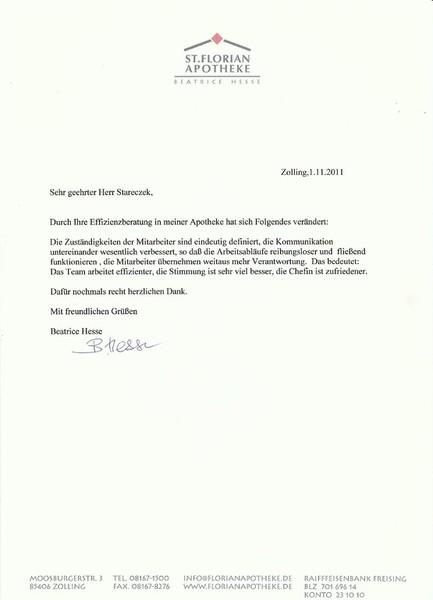 Effizienz Gesellschaft mbH & Co. KG - Was Kunden schreiben